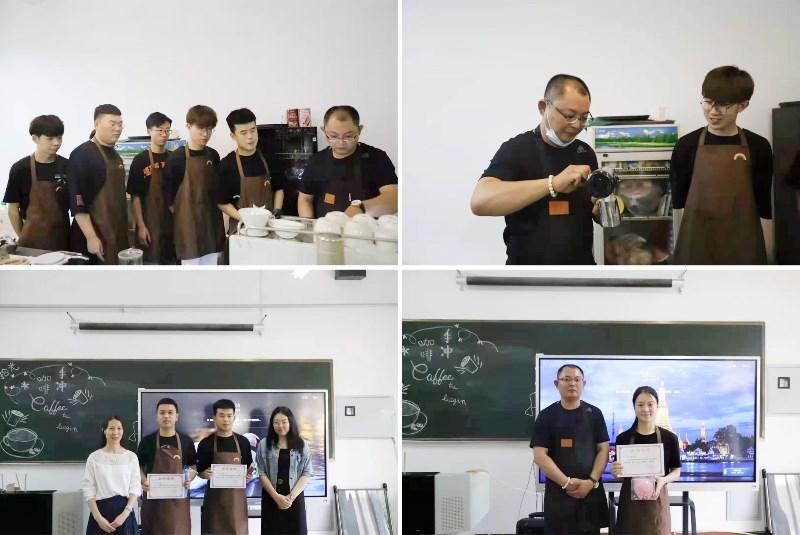 """人文社科系举办""""咖啡文化进校园""""活动"""